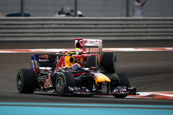 Mark Webber, Red Bull Racing devance Felipe Massa, Scuderia Ferrari