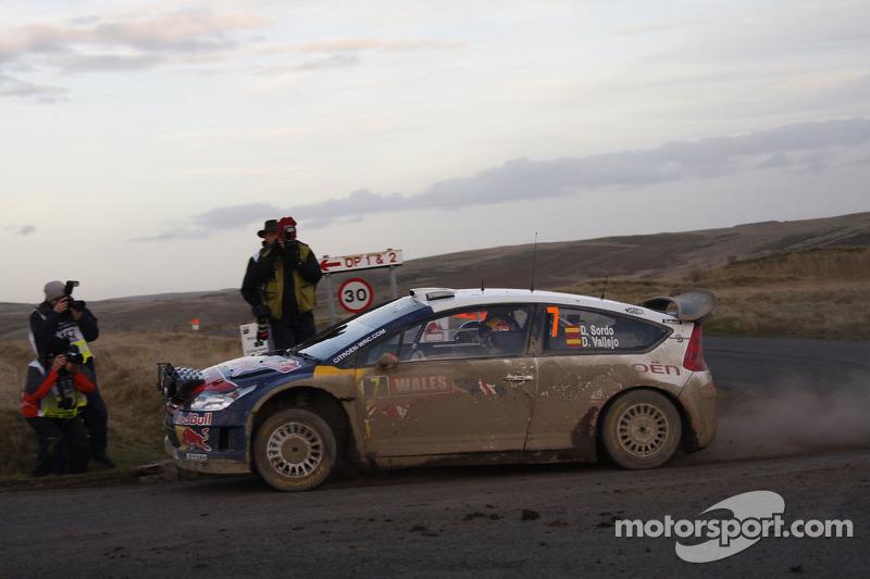 Daniel Sordo en Diego Vallejo, Citroën C4 Citroën Total World Rally Team