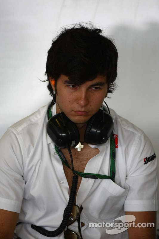 Sergio Perez BMW Sauber