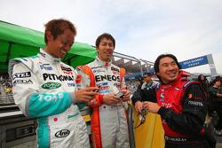 #6 Eneos SC430: Daisuke Ito, #1 Petronas Tom's SC430: Juichi Wakisak