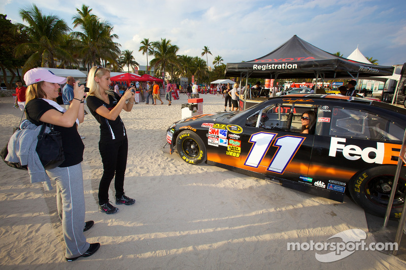 Toyota Racing stand, South Beach