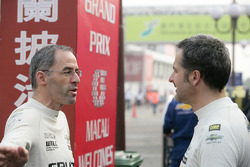 Alain Menu, Chevrolet, Chevrolet Cruze LT en Yvan Muller, Chevrolet, Chevrolet Cruze LT