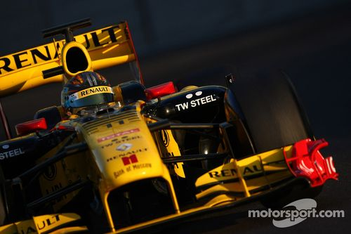 Abu Dhabi Pirelli teszt