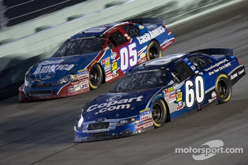 Carl Edwards en David Starr