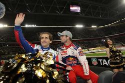 Alain Prost and Sébastien Loeb
