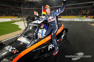 2011 Nations Cup winners Michael Schumacher and Sebastian Vettel for Team Germany