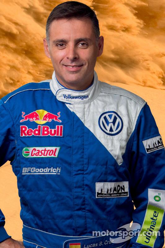 Volkswagen Motorsport: corijder Lucas Cruz Senra