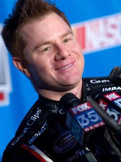 NASCAR Nationwide Series driver Jason Lefler