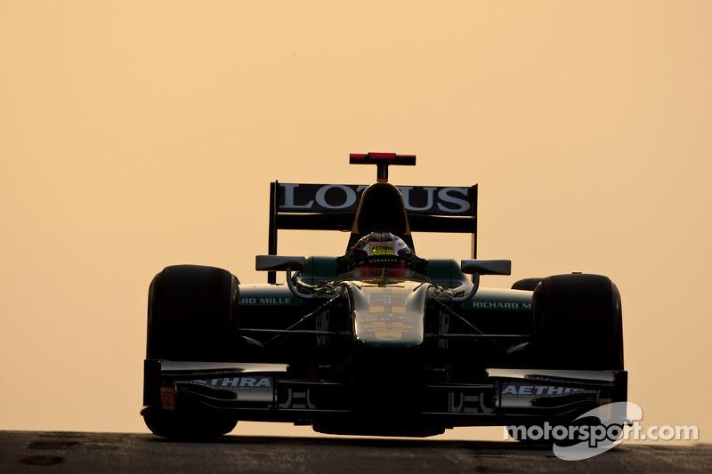 2011 год: азиатский GP2, Lotus ART