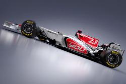 Der neue HRT Racing HRT F111