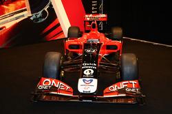 La Marussia Virgin Racing MVR-02