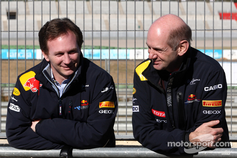Christian Horner, Red Bull Racing, Sporting Director, Adrian Newey, Red Bull Racing, Technical Operations Director