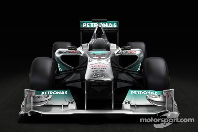 Mercedes GP F1 Team MGP W02 pre-launch