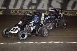 Tyler Courtney en Sammy Swindell