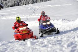 Valentino Rossi, Ducati, Nicky Hayden, Ducati go to Ducati Desmosedici GP11 presentation