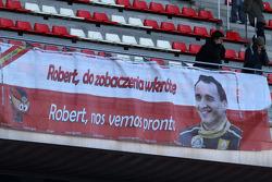 Botschaft für Robert Kubica, Lotus Renault GP