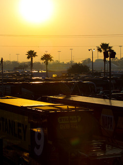 Sunrise over Daytona International Speedway
