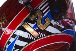 Helmet of Trevor Bayne, Wood Brothers Racing Ford