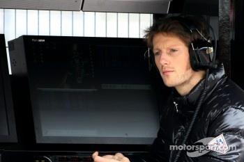 Romain Grosjean, Test driverLotus Renault GP