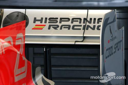 Präsentation: Hispania Racing F1 F111