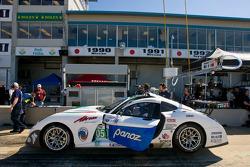 #050 Panoz Racing Panoz Abruzzi: Ian James, Benjamin Leuenberger