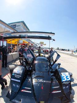 #33 Level 5 Motorsports Lola Honda: Scott Tucker, Christophe Bouchut, Joao Barbosa