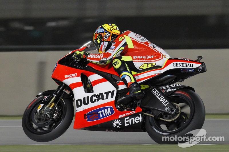 Qatar 2011 - Le challenge Ducati