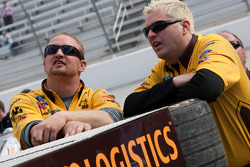 Roush Fenway Racing Ford crew members