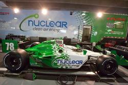 Car of Simona de Silvestro, HVM Racing