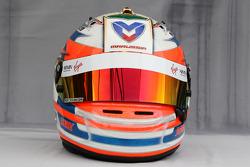 Helmet of Timo Glock, Virgin Racing
