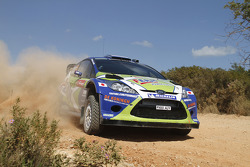 Dennis Kuipers and Frédéric Miclotte, Ford Fiesta WRC