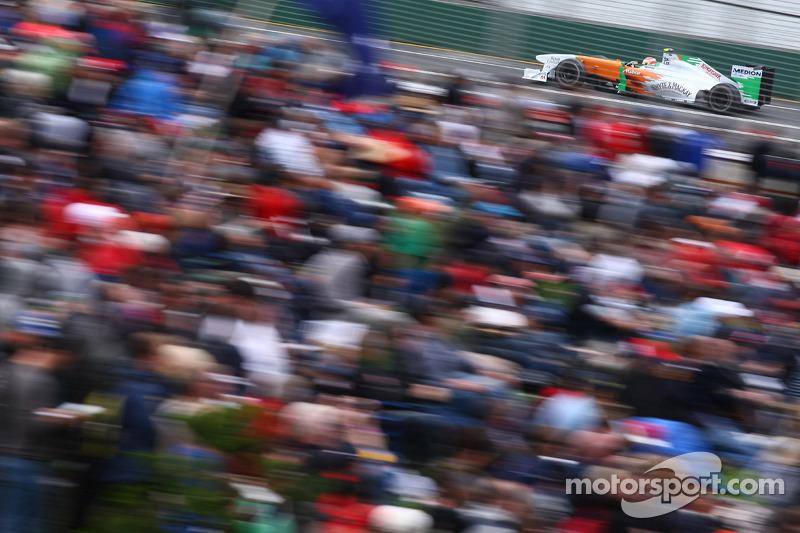 Paul di Resta: Grand Prix von Australien 2011