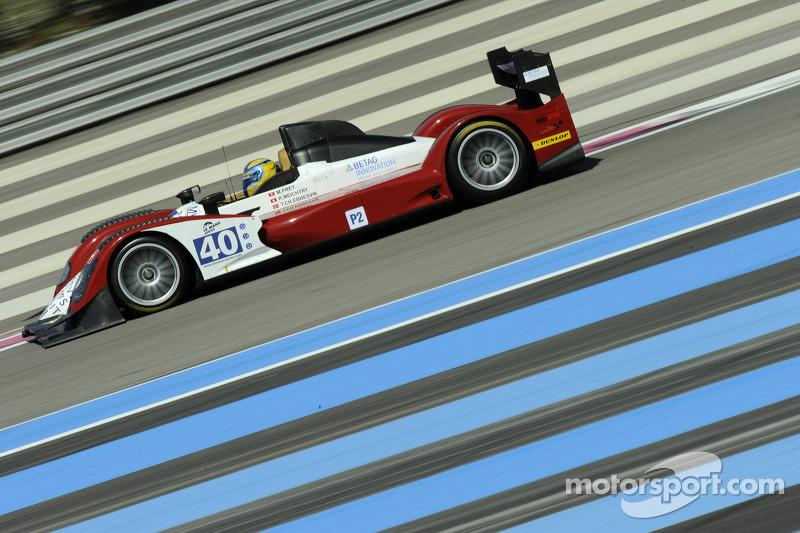 #40 Race Performance Oreca 03 - Judd: Michel Frey, Ralph Meichtry, Thor-Christian Ebbesvik