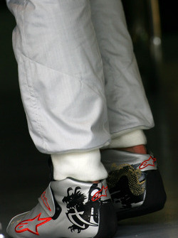 Racing shoes of Michael Schumacher, Mercedes GP