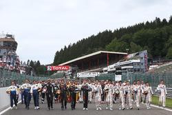 Groepsfoto met alle rijders