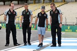 Trackwalk: Sergio Perez, Sahara Force India F1