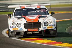#30 Team Parker Racing, Bentley Continental GT3: CChris Harris, Derek Pierce, Carl Rosenblad, David Perel