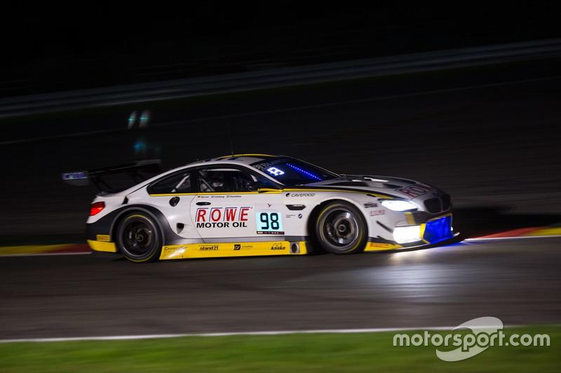 15. #98 Rowe Racing, BMW M6 GT3: Stef Dusseldorp, Nicky Catsburg, Dirk Werner