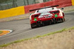#34 Scuderia Praha, Ferrari 488 GT3: Jiri Pisarik, Josef Kral, David Fumanelli, Matteo Malucelli