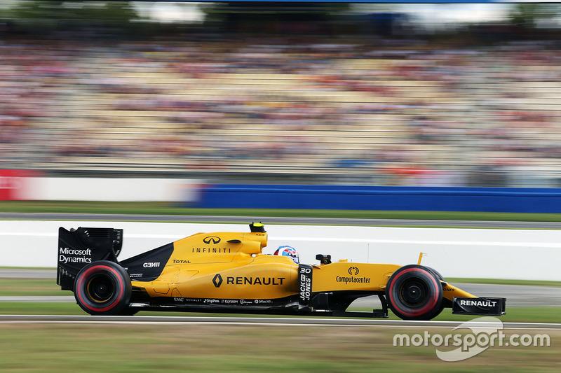 14: Джоліон Палмер, Renault Sport F1 Team RS16