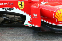 Ferrari SF16-H, dettaglio del T-Tray