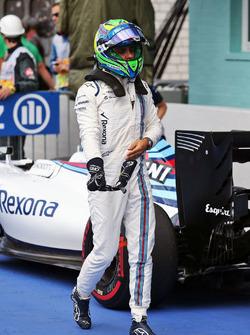 Felipe Massa, Williams nel parco chiuso