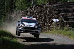 Karl Kruuda, Martin Jarveoja, Ford Fiesta WRC