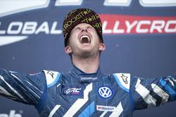 Race winner Scott Speed, Volkswagen