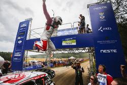 Il vincitore Kris Meeke, Citroën DS3 WRC, Citroën World Rally Team