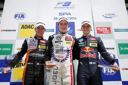 Rookie podium, 21 Anthoine Hubert, Van Amersfoort Racing, Dallara F312 - Mercedes-Benz, Joel Eriksson, Motopark, Dallara F312 - Volkswagen, Niko Kari, Motopark, Dallara F312 - Volkswagen,