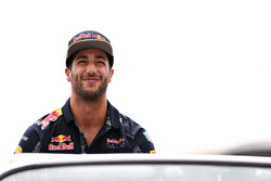 Fahrerparade: Daniel Ricciardo, Red Bull Racing