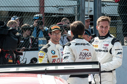 #99 Rowe Racing, BMW M6 GT3: Alexander Sims; #88 AMG-Team AKKA ASP, Mercedes-AMG GT3: Renger Van der Zande