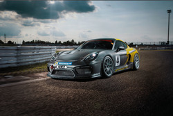 Presentatie Porsche Cayman GT4 Clubsport Manthey Racing