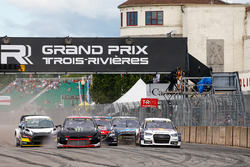 Petter Solberg, PSRX Citroën DS3 RX, Mattias Ekström, EKS RX Audi S1